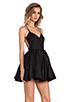 Image 3 of keepsake Perfect Stranger Dress in Black