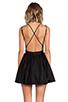 Image 4 of keepsake Perfect Stranger Dress in Black