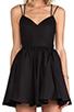 Image 5 of keepsake Perfect Stranger Dress in Black