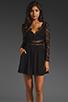 Image 1 of keepsake Paradise Stars Dress in Black