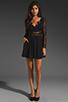 Image 2 of keepsake Paradise Stars Dress in Black