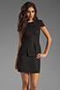 Image 1 of keepsake White Noise Dress in Black