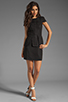 Image 2 of keepsake White Noise Dress in Black