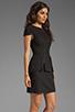 Image 3 of keepsake White Noise Dress in Black