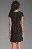 Image 4 of keepsake White Noise Dress in Black