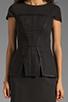Image 5 of keepsake White Noise Dress in Black