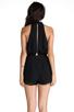 Image 4 of keepsake Stephanie Playsuit in Black