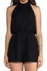 Image 5 of keepsake Stephanie Playsuit in Black