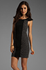 Image 1 of Ladakh Lace Dreamer Dress in Black