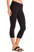 Image 2 of LA Made Lycra Jersey Cropped Legging in Black