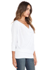 Image 2 of LA Made Thermal Aidan Dolman in White