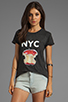 Image 1 of Local Celebrity NYC Tee in Black