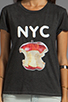 Image 3 of Local Celebrity NYC Tee in Black