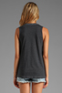 Image 2 of Local Celebrity Compton Muscle Tee in Black