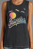 Image 3 of Local Celebrity Compton Muscle Tee in Black