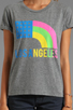 Image 3 of Local Celebrity Los Angeles Tee in Heather Grey