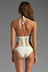 Image 3 of Lisa Maree Birthday Blues Crochet One Piece in Cream