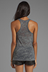 Image 2 of Lauren Moshi Nancy Color Miami Beach Swing Tank in Heather Grey