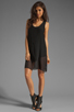 Image 2 of LNA Sherwood Tank Dress in Black