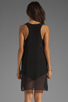 Image 4 of LNA Sherwood Tank Dress in Black
