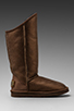 Image 2 of Australia Luxe Collective Cosy Tall Vintage Metallic Boot in Bronze