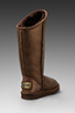 Image 4 of Australia Luxe Collective Cosy Tall Vintage Metallic Boot in Bronze