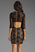 Image 4 of Lovers + Friends Sway Dress in Black Lace
