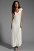 Image 2 of Lovers + Friends Vanity Fair Dress in White Stretch