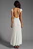 Image 4 of Lovers + Friends Vanity Fair Dress in White Stretch