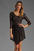 Image 1 of Lovers + Friends Senorita Mini Dress in Black Lace
