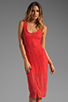 Image 1 of Lovers + Friends True Love Dress in Tangerine Stretch