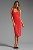 Image 2 of Lovers + Friends True Love Dress in Tangerine Stretch