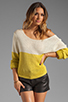 Image 1 of Lovers + Friends Sweet Escape Sweater in Citrus
