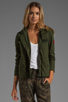 Image 1 of Lovers + Friends for REVOLVE Jane Cargo Jacket in Army Green