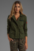 Image 2 of Lovers + Friends for REVOLVE Jane Cargo Jacket in Army Green