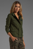 Image 3 of Lovers + Friends for REVOLVE Jane Cargo Jacket in Army Green