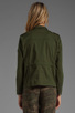 Image 4 of Lovers + Friends for REVOLVE Jane Cargo Jacket in Army Green
