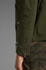 Image 7 of Lovers + Friends for REVOLVE Jane Cargo Jacket in Army Green