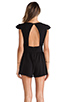 Image 4 of Lovers + Friends You and I Romper in Black