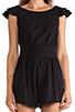 Image 6 of Lovers + Friends You and I Romper in Black