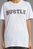 Image 3 of Lovers + Friends Hustle Graphic Tee in White