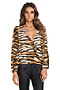 Image 1 of Lovers + Friends Lovely Long sleeve Top in Wildcat