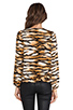 Image 3 of Lovers + Friends Lovely Long sleeve Top in Wildcat