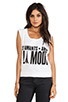 Image 1 of Lovers + Friends Muscle Tee in A La Mode