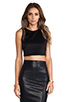 Image 1 of Lovers + Friends for REVOLVE Crop Top in Black