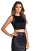 Image 2 of Lovers + Friends for REVOLVE Crop Top in Black