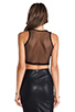 Image 3 of Lovers + Friends for REVOLVE Crop Top in Black