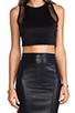 Image 4 of Lovers + Friends for REVOLVE Crop Top in Black