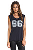 Image 2 of Lovers + Friends for REVOLVE Crawford Muscle Tee in Vintage Black