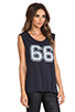 Image 3 of Lovers + Friends for REVOLVE Crawford Muscle Tee in Vintage Black